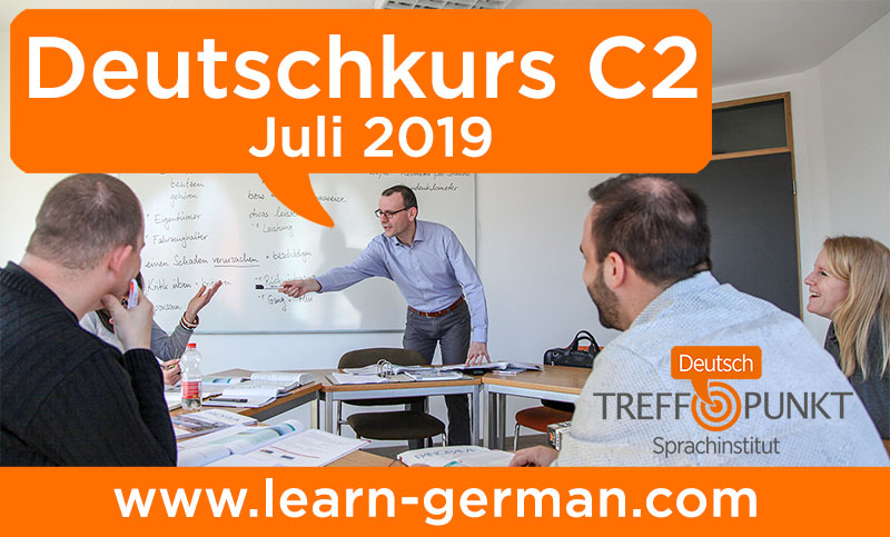 German Course Level C2 at Sprachinstitut TREFFPUNKT Bamberg, Germany